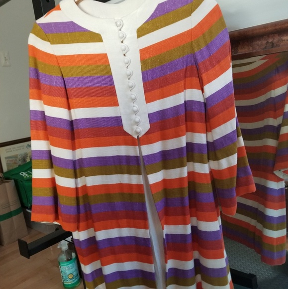885628ea13 Vintage Jackets & Coats | 70s Rainbow Striped Jacket | Poshmark